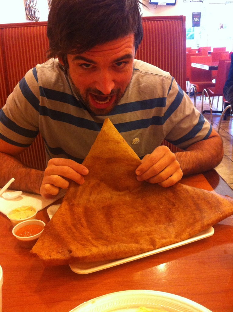 Logan with Dosa