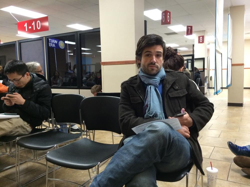 Logan at the DMV
